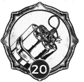 Demolitionist - Level 20 Passive Trait Icon - Remnant From the Ashes (Video Game)