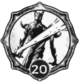 Executioner - Level 20 Passive Trait Icon - Remnant From the Ashes (Video Game)