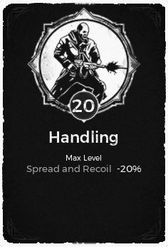 Handling - Level 20 Passive Trait Card - Remnant From the Ashes (Video Game)