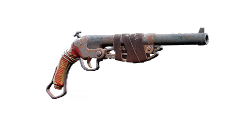 The Hunting Pistol basic hand gun weapon in the video game, Remnant: From the Ashes.