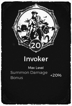The Invoker passive trait at level 20 in Remnant: From the Ashes.