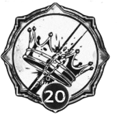 Kingslayer - Level 20 Passive Trait Icon - Remnant From the Ashes (Video Game)