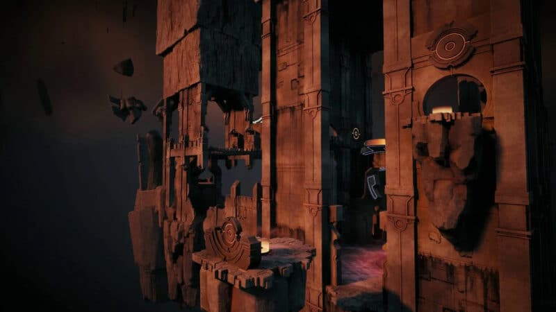The Labrynth world zone in the video game, Remnant: From The Ashes.