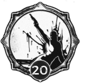 Last Resort - Level 20 Passive Trait Icon - Remnant From the Ashes (Video Game)