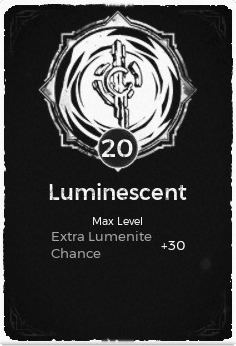 The Luminescent passive trait in Remnant: From the Ashes.