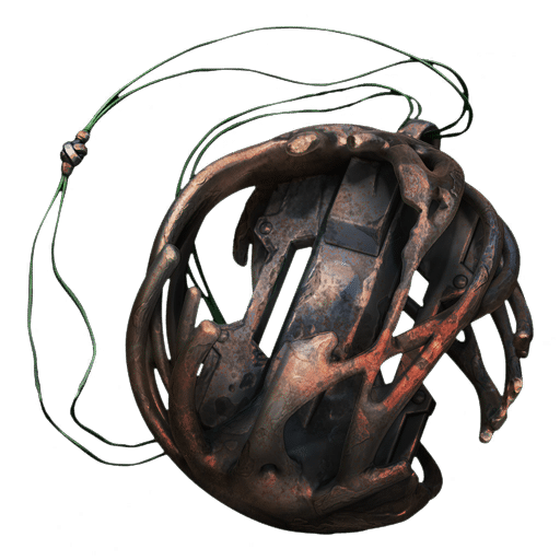 The Rusted Amulet item, found in the Fetid Pools event in Remnant: From the Ashes.