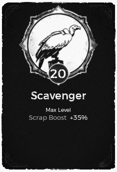 The Scavenger passive trait in Remnant: From the Ashes.