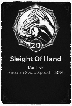 Sleight of Hand - Level 20 Passive Trait Card - Remnant From the Ashes (Video Game)