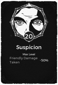 The Suspicion passive trait at level 20 in Remnant: From the Ashes.