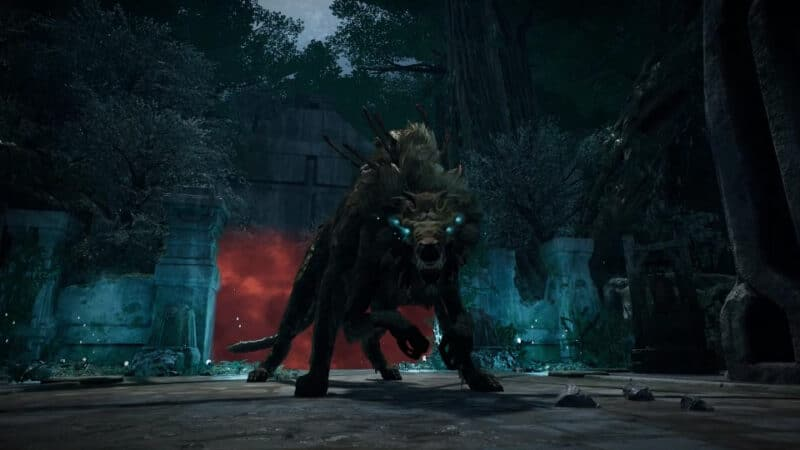 The Ravager, Yaesha World Boss, in the video game Remnant From the Ashes