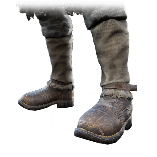 The Twisted Tassets boots, part of the Twisted Armor Set of equipment items in the video game, Remnant: From the Ashes.