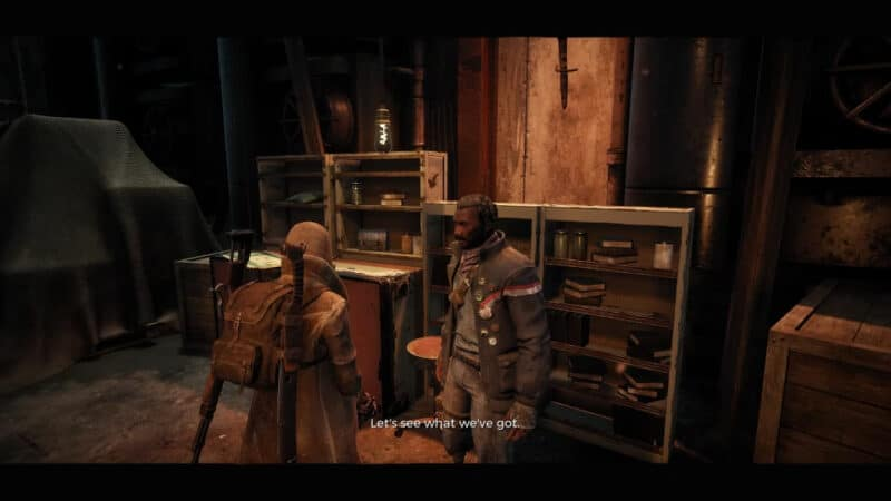 The Merchant Reggie, found in the Ward 13 area in Remnant: From the Ashes.